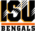 Idaho State Bengals 1997-2018 Wordmark Logo 02 decal sticker
