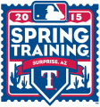 Texas Rangers 2015 Event Logo iron on sticker