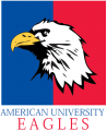 American Eagles 1985-2005 Primary Logo iron on sticker