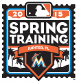 Miami Marlins 2015 Event Logo iron on sticker