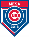 Chicago Cubs 2018 Event Logo iron on sticker