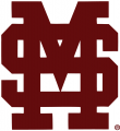 Mississippi State Bulldogs 1984-Pres Alternate Logo 01 decal sticker