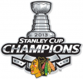 Chicago Blackhawks 2012 13 Champion Logo 02 iron on sticker