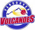 Vancouver Volcanoes 2010-Pres Primary Logo iron on sticker