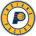 Indiana Pacers 2017-2018 Pres Primary Logo decal sticker