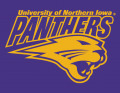 Northern Iowa Panthers 2002-2014 Secondary Logo 02 iron on sticker