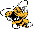 AIC Yellow Jackets 2009-Pres Primary Logo decal sticker