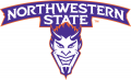Northwestern State Demons 2008-Pres Secondary Logo iron on sticker