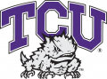 TCU Horned Frogs 1995-Pres Primary Logo iron on sticker