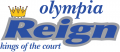 Olympia Reign 2008-Pres Primary Logo iron on sticker
