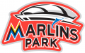 Miami Marlins 2012 Stadium Logo 02 iron on sticker