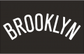 Brooklyn Nets 2012 13-Pres Jersey Logo iron on sticker