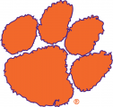 Clemson Tigers 1977-Pres Secondary Logo iron on sticker