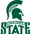 Michigan State Spartans 1987-Pres Alternate Logo 01 iron on sticker