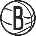 Brooklyn Nets 2012 13-Pres Alternate Logo iron on sticker