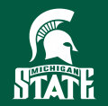 Michigan State Spartans 1987-Pres Alternate Logo 02 iron on sticker