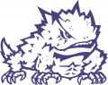 TCU Horned Frogs 1995-Pres Secondary Logo 01 iron on sticker